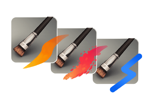 feature brushes